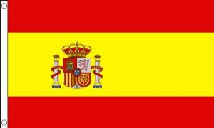 Spain Large Deluxe Country Flag - 5' x 3'